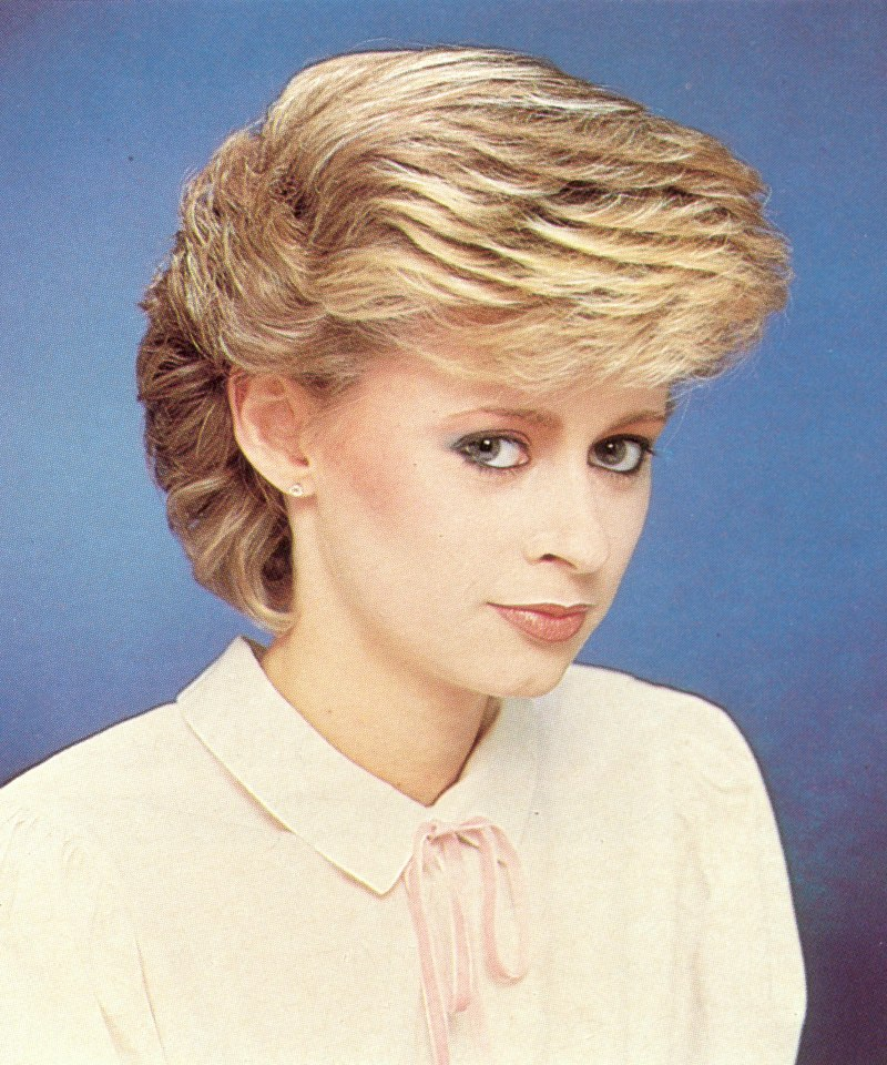 80s feathered hairstyles pictures. Black Bedroom Furniture Sets. Home Design Ideas