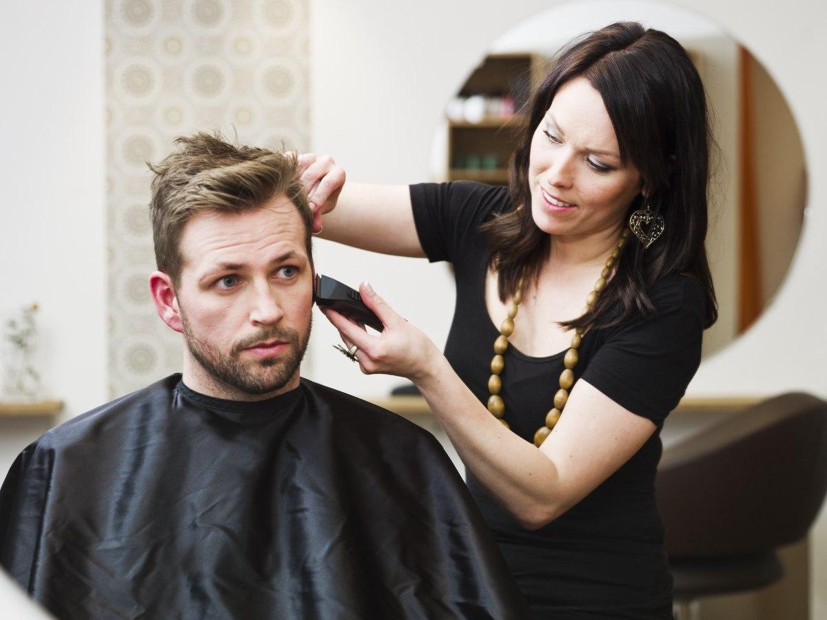Les Cheveux Homme Coupe Style Trouver Bon