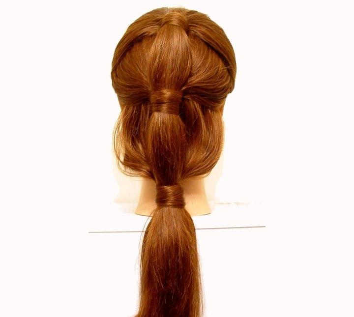 la queue de cheval attach e une fixation rapide pour cheveux longs. Black Bedroom Furniture Sets. Home Design Ideas