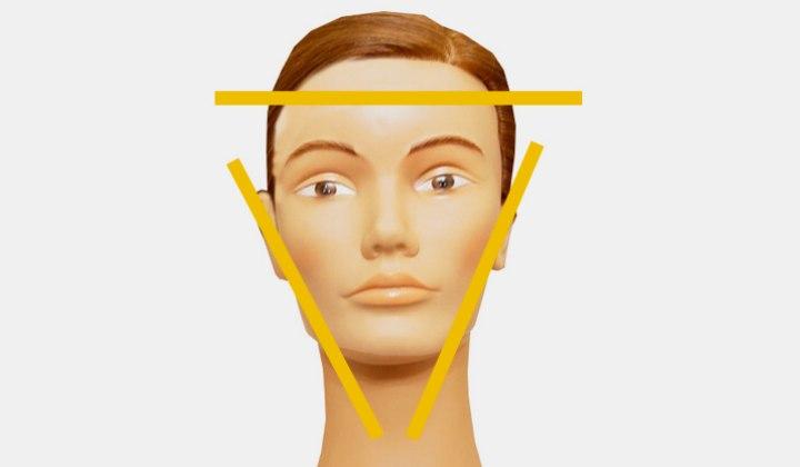 le visage au triangle renvers et ses coiffures qui. Black Bedroom Furniture Sets. Home Design Ideas