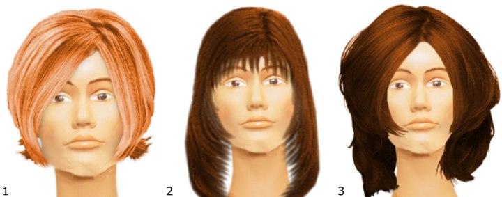 Coiffure coupe courte femme visage carre