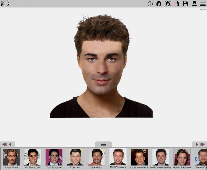 Coiffures Virtuelles Pour Hommes Logiciel Relooking