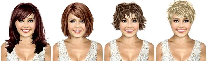 coiffures virtuelles - logiciel coiffure gratuit